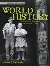 World History: Observations and Assessments from Creation to Today, Student Book