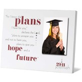 Jeremiah 29:11 Tabletop Photo Frame