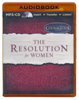 The Resolution for Women - unabridged audiobook on MP3-CD