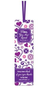 Mom, You Are Loved, Bookmark
