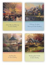 Birthday Cards, Thomas Kinkade, Box of 12