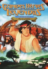 David y Goliat, Grandes Héroes y Leyendas de la Biblia ( David & Goliath, Great Heroes and Legends of the Bible), DVD