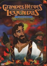 Sodoma y Gomorra, Grandes Heroes y Leyendas de la Biblia (Sodom  & Gomorrah, Greatest Heroes and Legends of the Bible), DVD