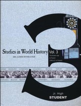 Studies in World History Volume 3, Student Book