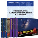 Science Starters: Elementary General  Science & Astronomy Pack, 7 Volumes