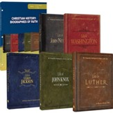 Christian History: Biographies of Faith Pack with Books