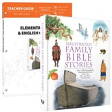 Elementary Bible & English Grammar Pack, 2 Volumes