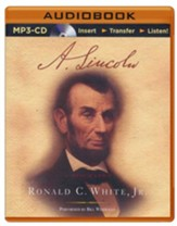 A. Lincoln: A Biography - unabridged audiobook on MP3-CD