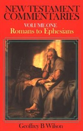 Romans to Ephesians: New Testament Commentary Series  - Slightly Imperfect