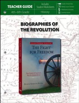 Fight for Freedom, Teacher Guide : True Stories of America's War for Independence