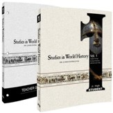 Studies in World History 1 Pack, 6th-8th Grade, 2 Volumes