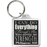 I Can Do Everything Through Him Keyring