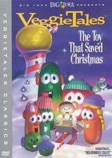 The Toy That Saved Christmas, VeggieTales DVD  - Slightly Imperfect