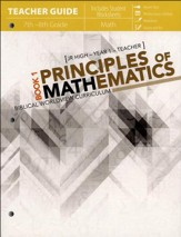 Principles of Mathematics Book 1,  Teachers Guide