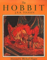 The Hobbit: Illustrated by Michael Hague,Softcover