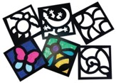 Junior Stained Glass Frames (Package of 24)