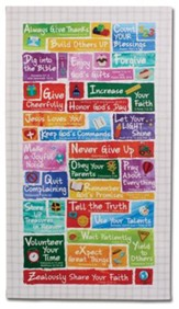 ABC's of Faith for Kids Wall Plaque