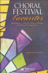 Choral Festival Favorites - Choral Book