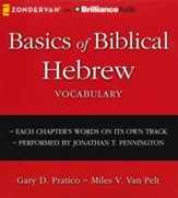 Basics of Biblical Hebrew Vocabulary - unabridged audiobook on CD