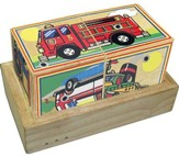 Wooden Vehicle Sound Blocks