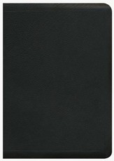 ESV MacArthur Study Bible, Black Genuine Leather - Slightly Imperfect