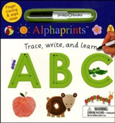 Alphaprints: Wipe Clean Trace, Write, and Learn ABC