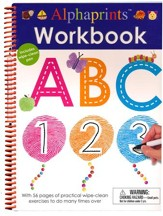 Alphaprints: Workbook ABC 123