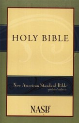 NASB Bible Softcover - Case of 24