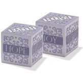 Faith, Hope, Love, Joy, Peace Cube