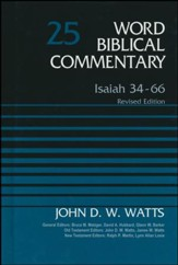 Isaiah 34-66, Revised: Word Biblical Commentary [WBC]