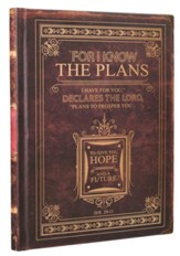 I Know the Plans, Classic Brown Journal