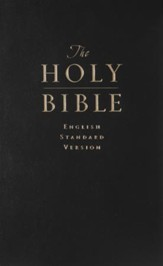 The ESV Value Pew Bible, Black