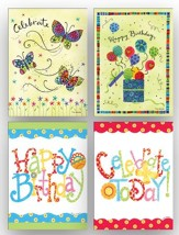 Shared Blessings Birthday Cards, Box of 12