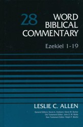 Ezekiel 1-19: Word Biblical Commentary, Volume 28 (Revised) [WBC]