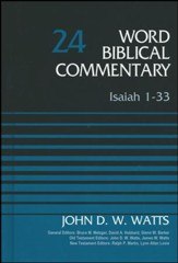 Isaiah 1-33, Volume 24, Revised Edition