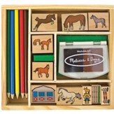 Horse Stable Stamp Set