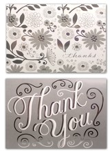 Wedding, Thank You Cards, Pack of 50