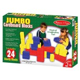 Cardboard Blocks, 24 pieces