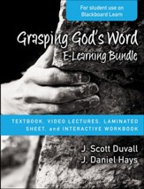 Grasping God's Word E-Learning Bundle