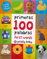 First 100 Words Bilingual Spanish/English, Small Padded Edition