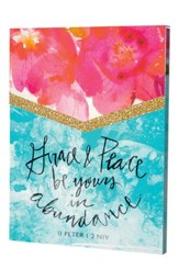 Grace and Peace, Purse Notes