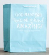 God Made You Amazing Gift Bag, Psalm 139:14, Large