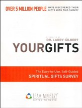 50-Pack Your Gifts: The Easy to Use, Self-Guided Spiritual Gifts Survey