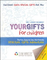 50-Pack Your Gifts for Children: The Fun, Easy to Use Kid-Friendly Spiritual Gifts Adventure