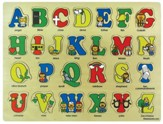 Bible ABC's Wooden Puzzle