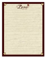 Love Came Down Stationery, Package of 50 - Slightly Imperfect