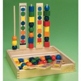 Wood Bead Sequencing Set