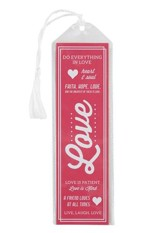 Love Bookmark, Pink