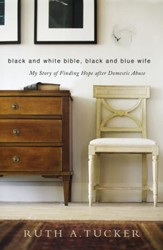 Black and White Bible, Black and Blue Wife - Slightly Imperfect