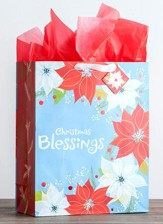Christmas Blessings Gift Bag, Extra Large